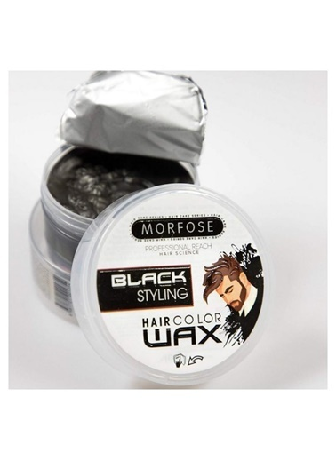 Morfose Morfose Hair Color Wax Black 100 ml Renksiz